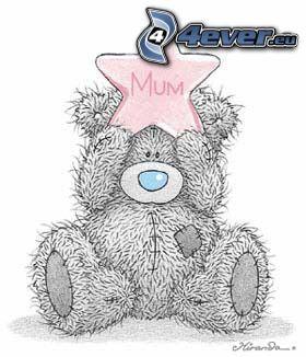 Teddybär, Stern
