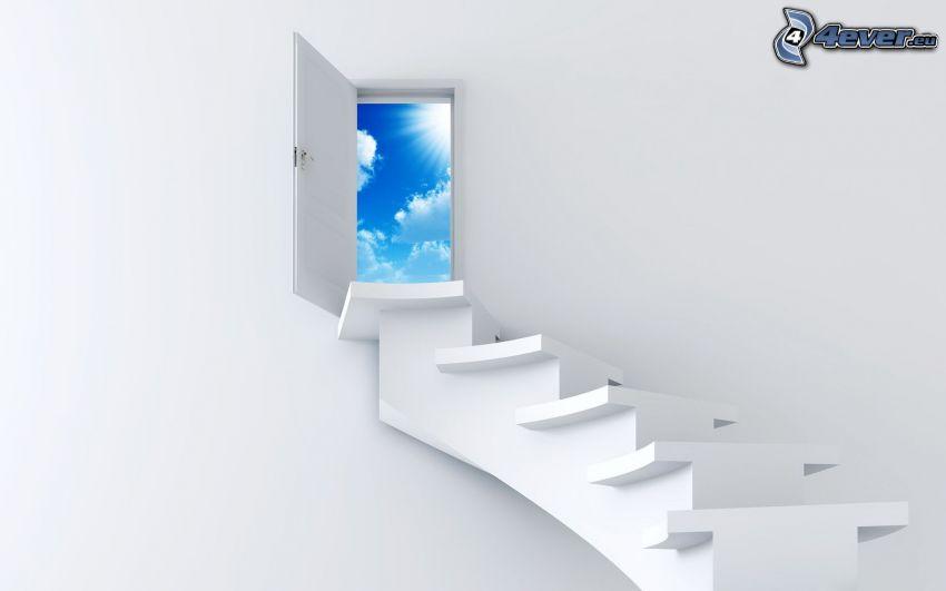 Treppen in den Himmel
