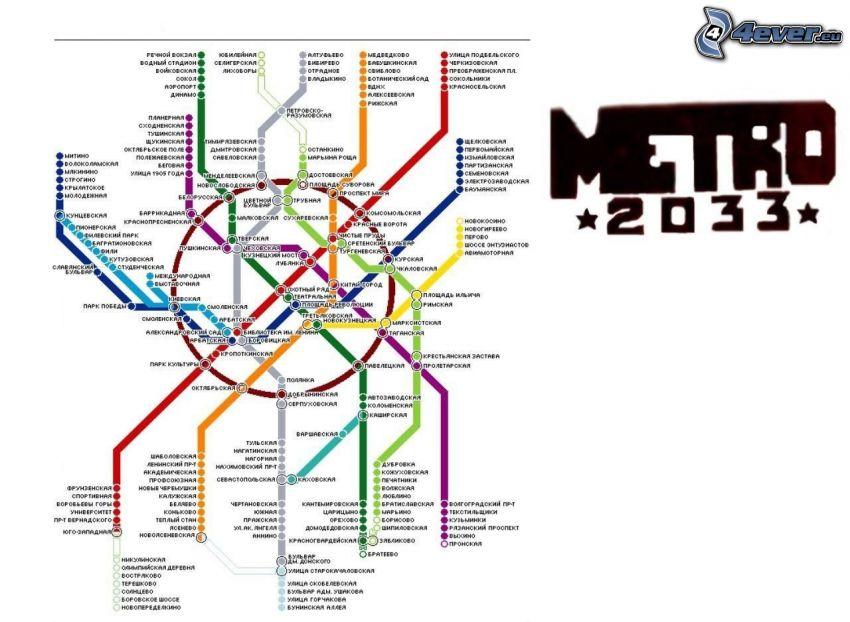 U-Bahn, Karte