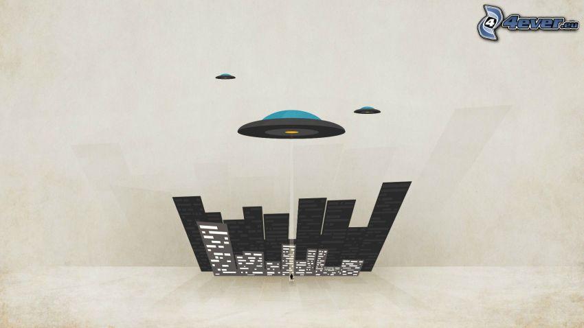 UFO, City