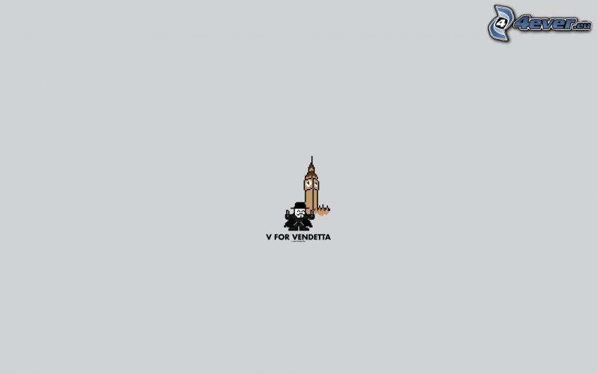 V wie Vendetta, Big Ben