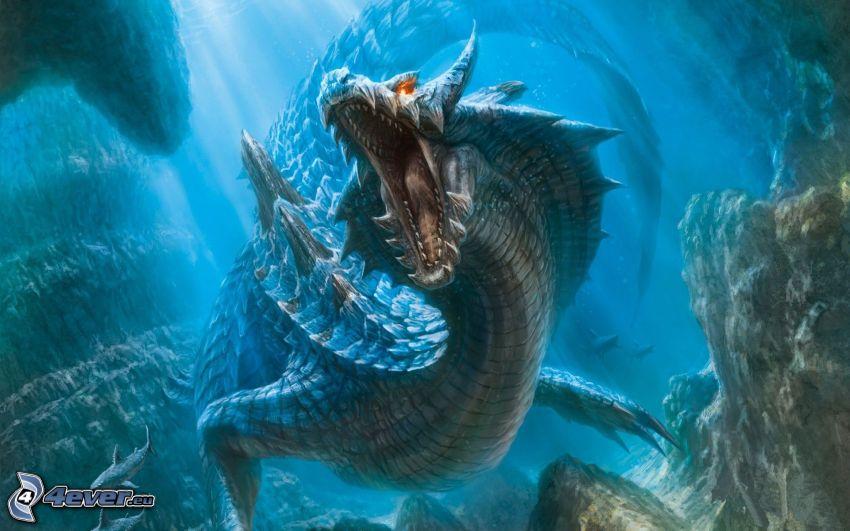 Wasser Kreaturen, Wasserdrache