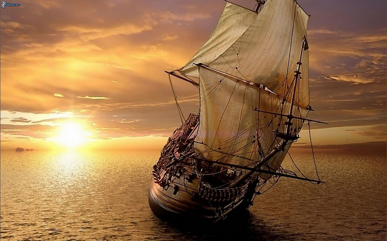 Segelschiffe auf dem meer  Segelschiff