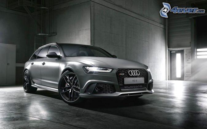 Audi S6, garage