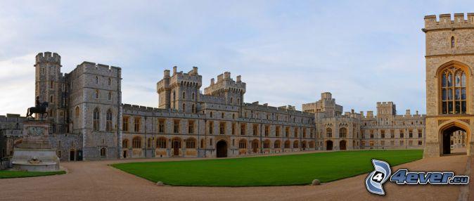 Windsor Castle, trädgård