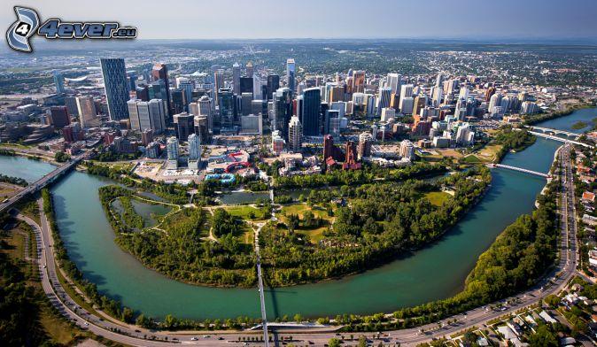Calgary, flod, park