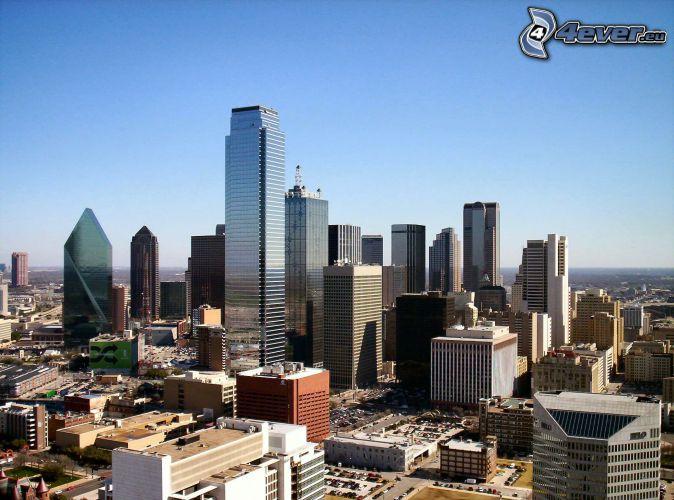 Dallas, skyskrapor