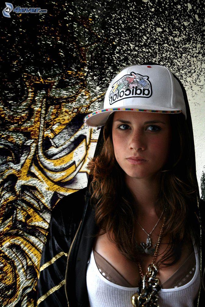hip-hop tjej