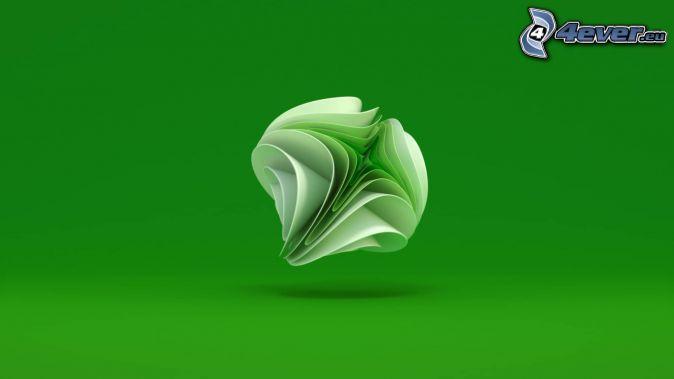 Xbox, grön bakgrund