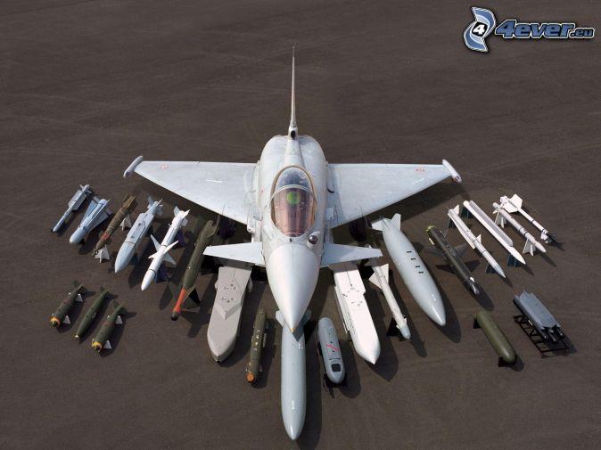 Eurofighter Typhoon, raketer