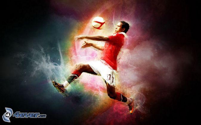 fotbollsspelare, fotboll