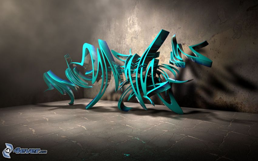 abstrakt, graffiti