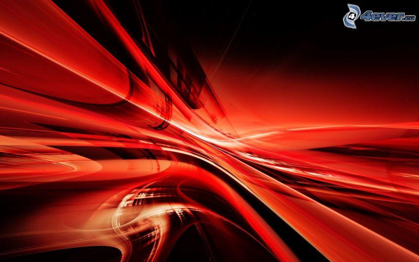 abstrakt, röd bakgrund