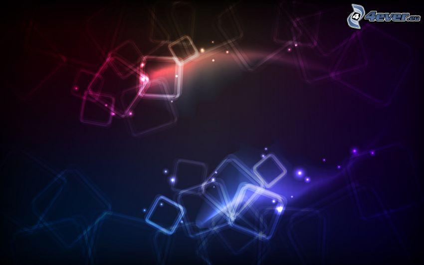 abstrakta kvadrater