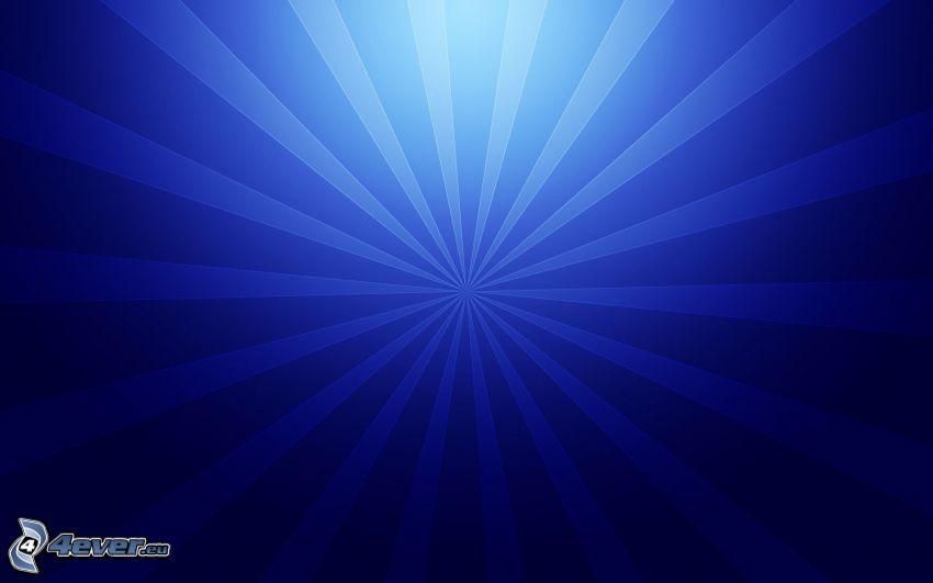 blå remsor, blå bakgrund