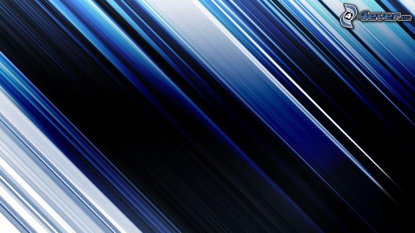 blå remsor