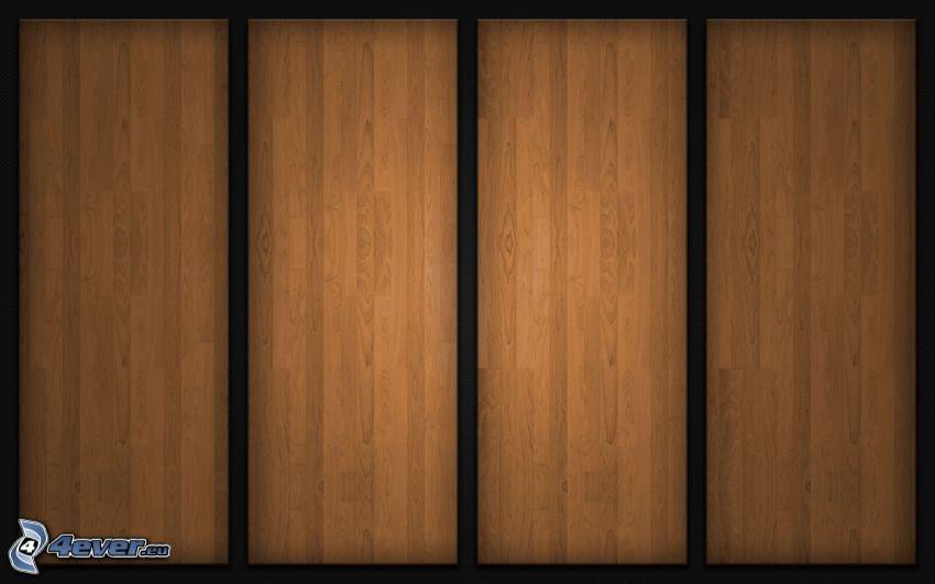 brädor, trä