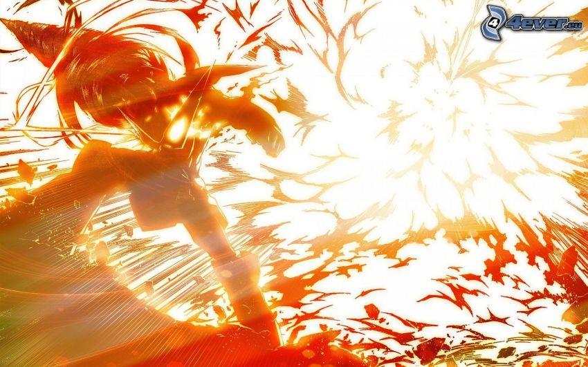 explosion, abstrakt