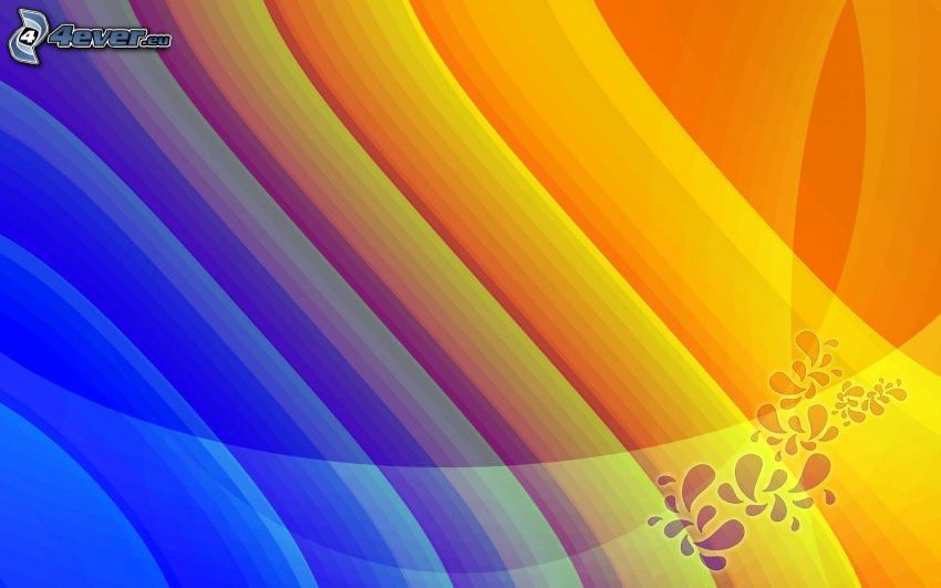 färgade remsor, abstrakt bakgrund