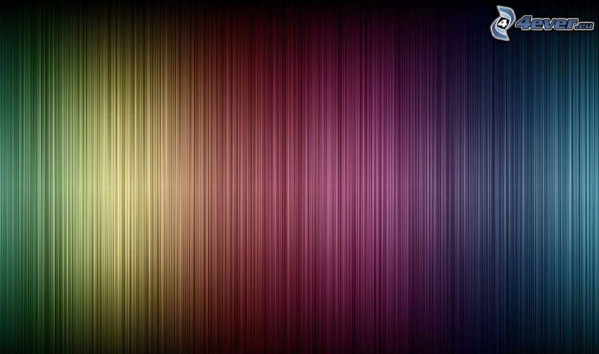 färggranna linjer, abstrakt