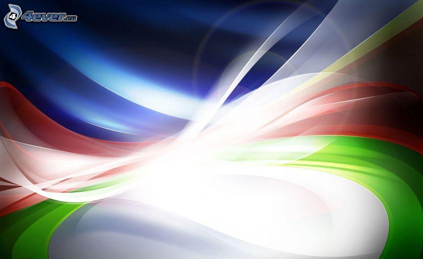 färgstark bakgrund, abstrakt bakgrund