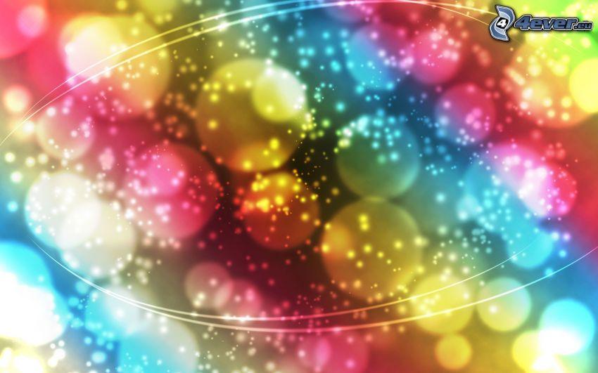 färgstark bakgrund, färgade remsor