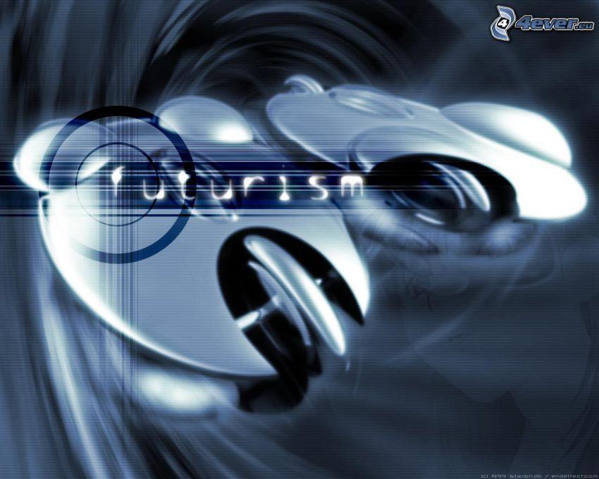 Futurism, abstrakt