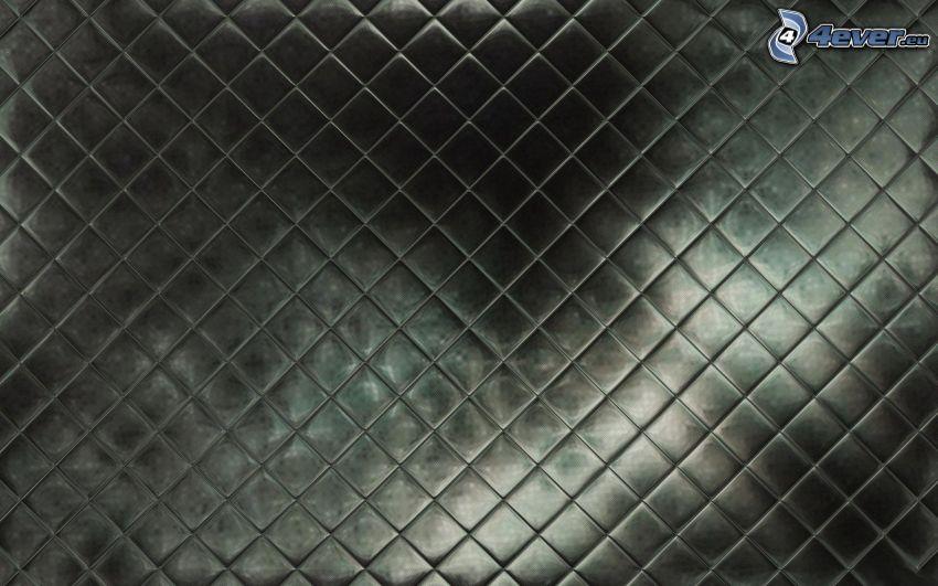 fyrkanter, svart bakgrund