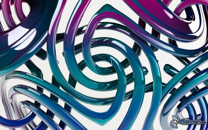 linjer, blå remsor