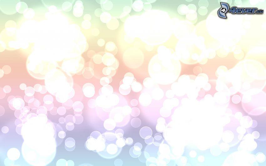 ringar, vit bakgrund