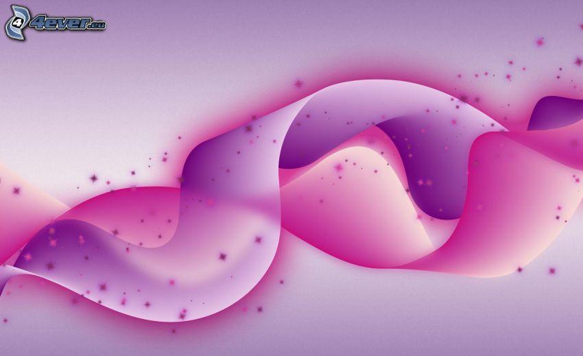 rosa bakgrund, abstrakt