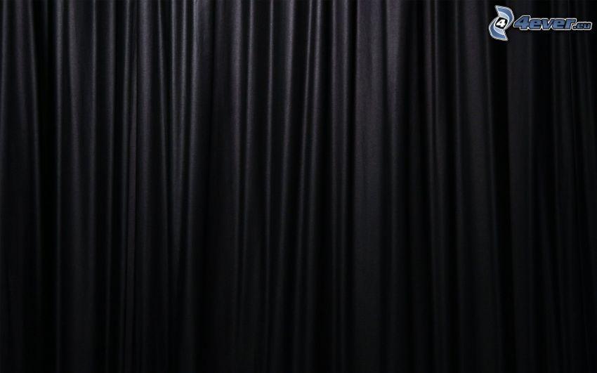 svart bakgrund, vågor
