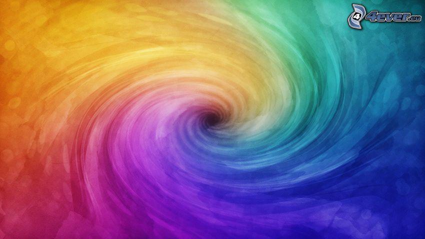 virvel, färger