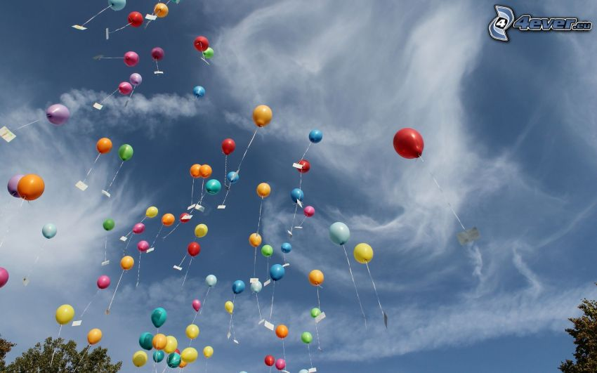 ballonger, moln