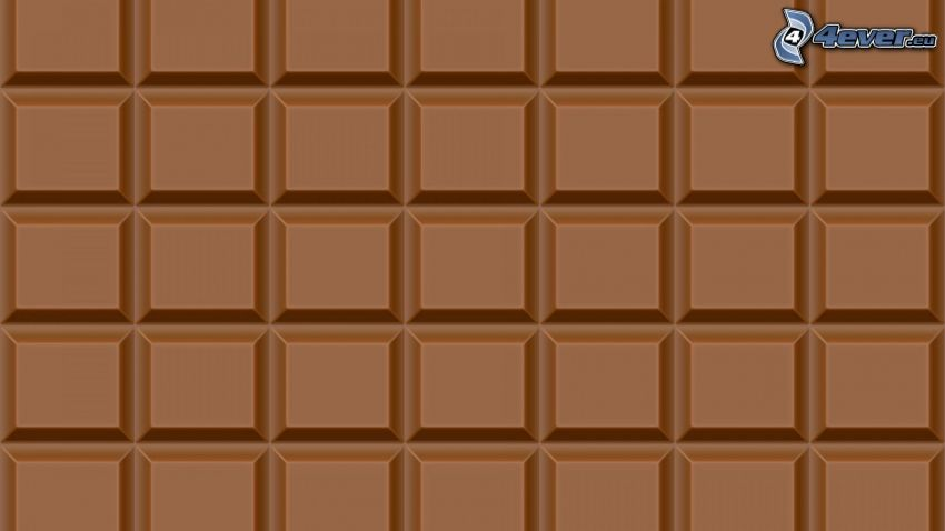 choklad, brun bakgrund
