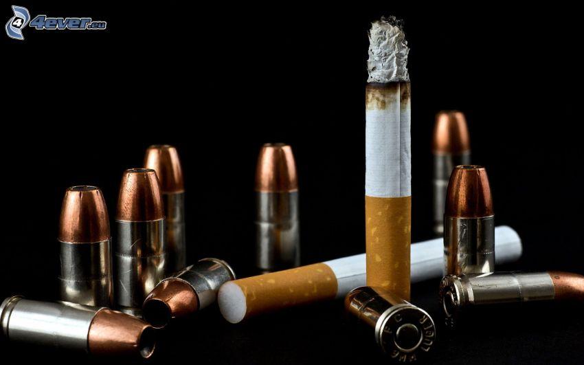 cigaretter, ammunition