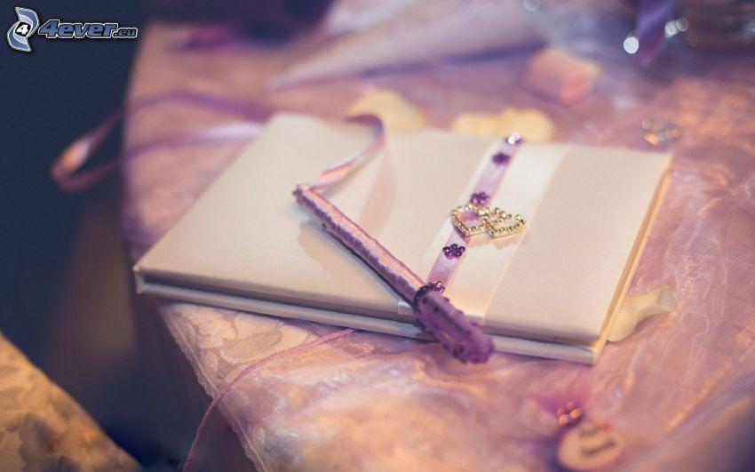 dagbok, bläckpenna