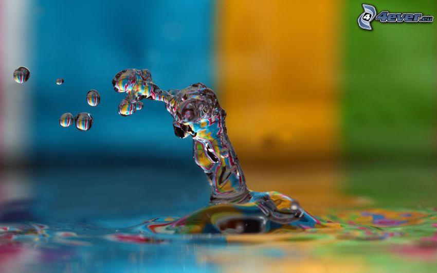 droppande, vatten