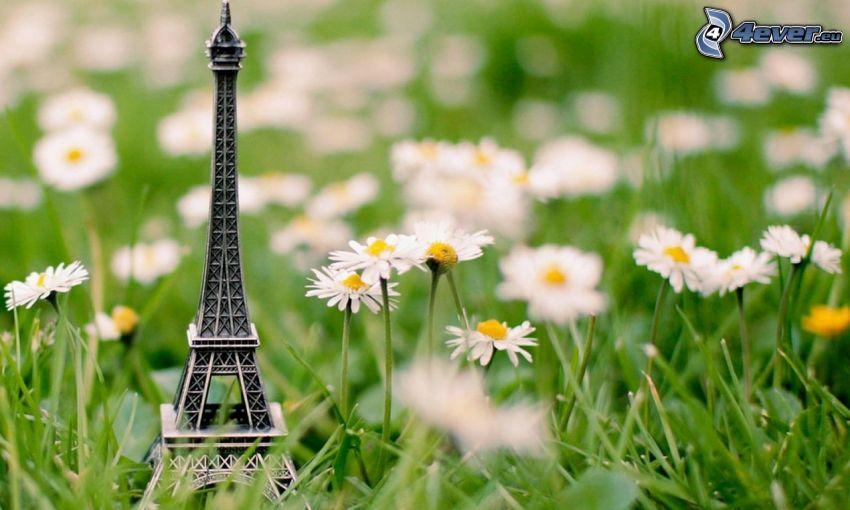 Eiffeltornet, prästkragar