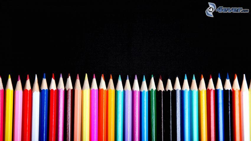 färgpennor