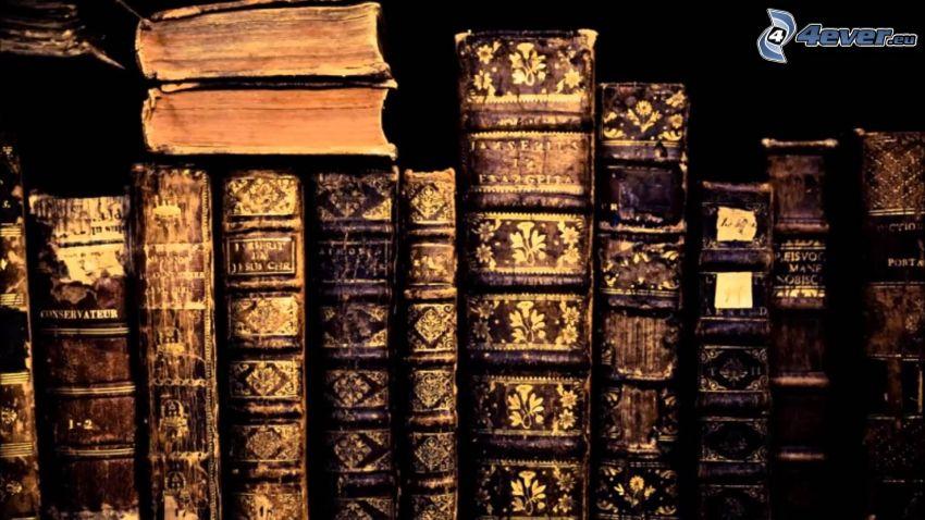 gamla böcker