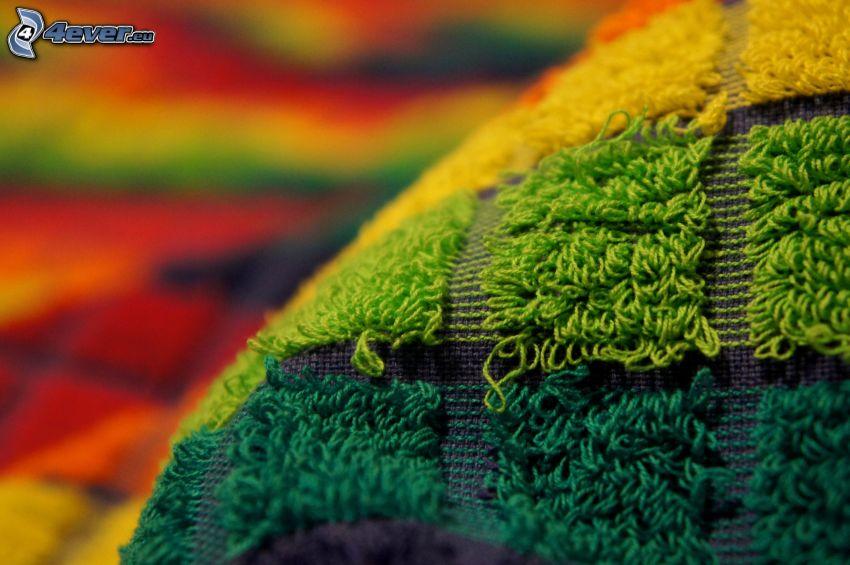 handduk, färger