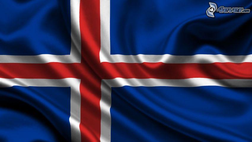 isländska flaggan