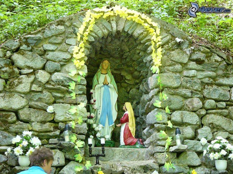 jungfru Maria, religion