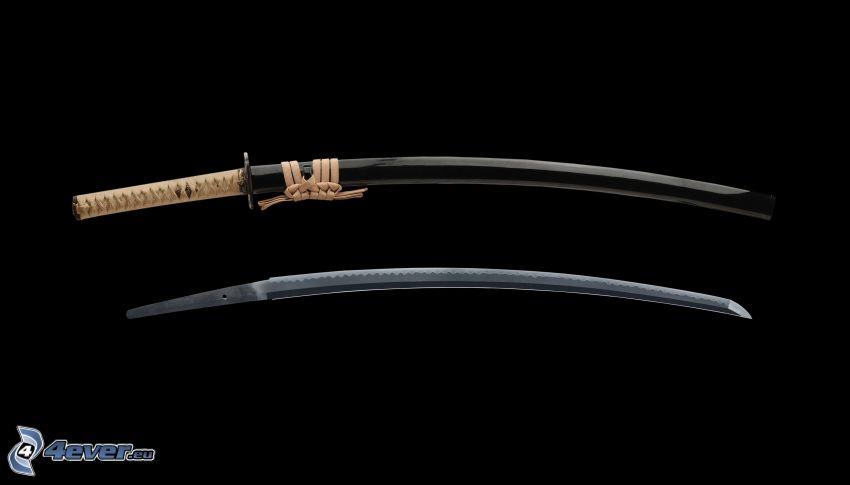 katana, svärd