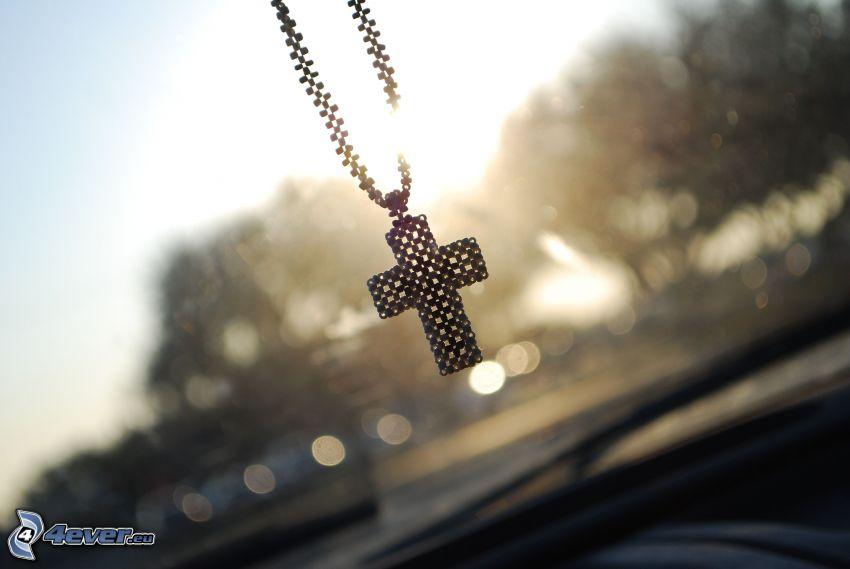 kors, hängsmycke