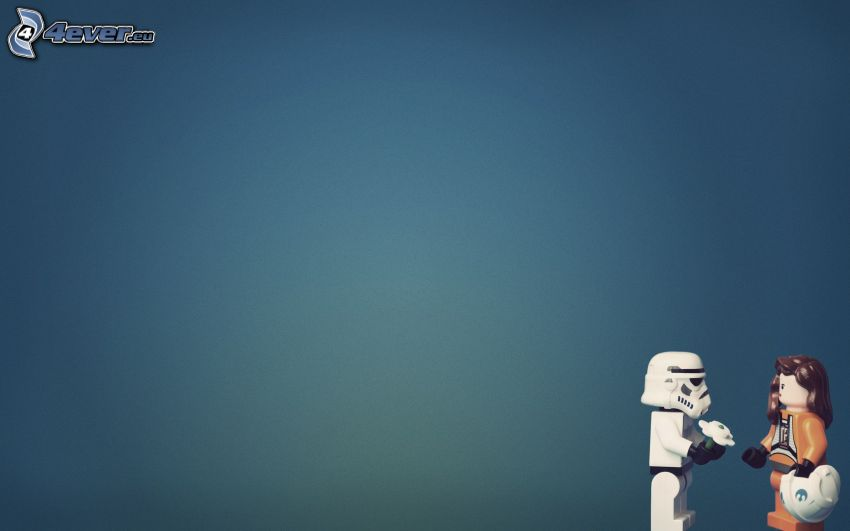 Lego, figurer, Stormtrooper