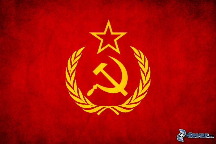 lie och hammare, stjärna, socialism, kommunism