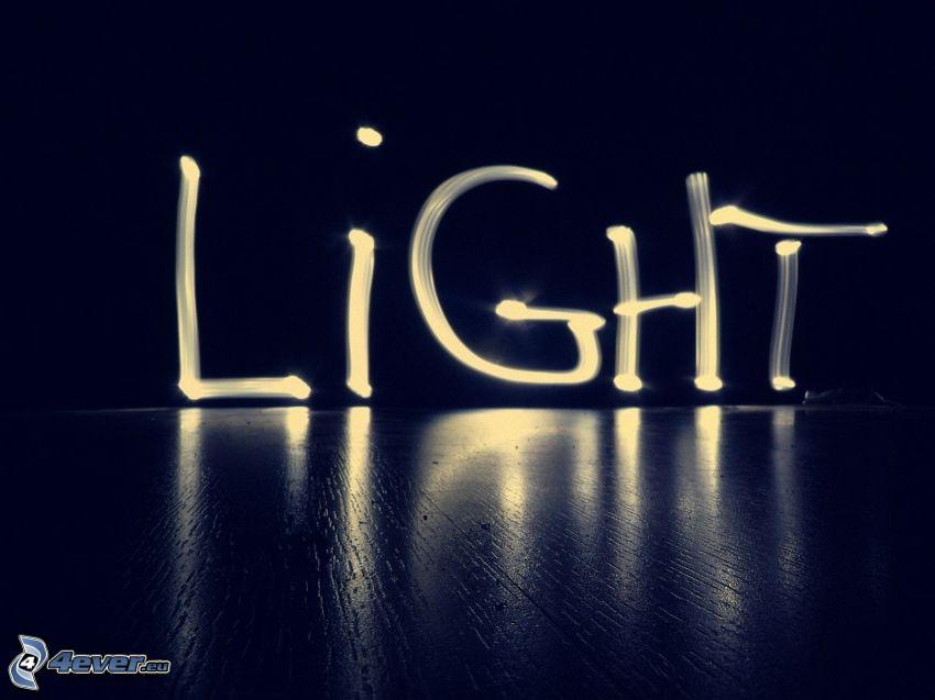 ljus, lightpainting