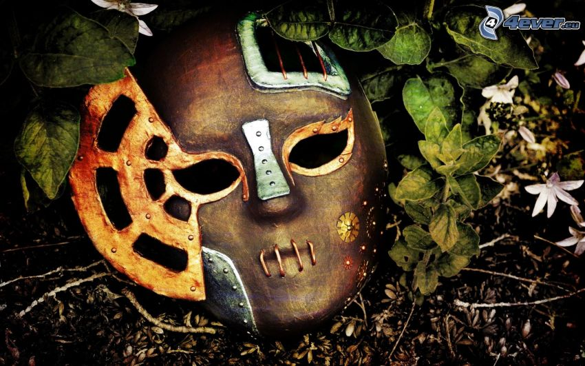 mask, löv